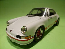 JOUEF PORSCHE 911 CARRERA RS 2.7 - WHITE + RED - IN GOOD CONDITION