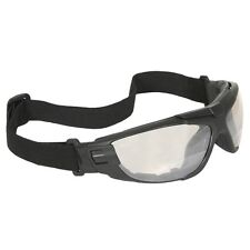 Radians Cuatro 4-In-1 Safety Glasses Goggles Smoke Foam Lined Frame Bifocal +2.5