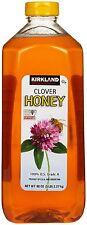 Kirkland Signature Premium 100% USA grade A Pure Clover Honey  5 Lbs / 80 oz