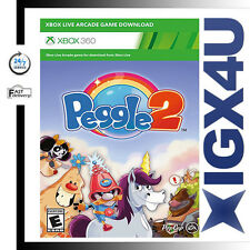 Microsoft XBOX 360 Peggle 2 Full Game Digital Download Code - Instant Send New