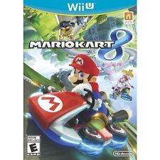 Mario Kart 8 (Nintendo Wii U, 2014) COMPLETE GAME BOX MANUAL NICE NES HQ