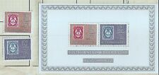 Norway 1972 Stamps on Stamps MNH set and Minisheet w7823