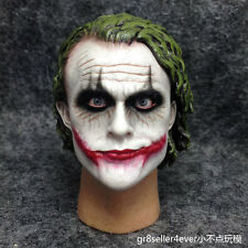 1/6 Scale Joker 2.0 Heath Ledger Head Sculpt The Dark Knight DX11 movable eyes