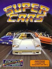 Super Cars (Gremlin) Amstrad CPC Game *