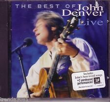 JOHN DENVER Best Of LIVE CD 80s Country Recorded Live 1995 ANNIES SONG COUNTRY