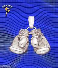 NEW Solid 3D Sterling Silver Boxing Glove Jewelry Pendant Available in Any Metal