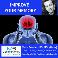 IMPROVE YOUR MEMORY HYPNOSIS CD - booster, better, powerful, perfect, function