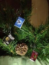 The Hunger Games, Catching Fire and Mocking Jay Mini Books Ornaments