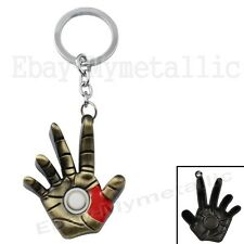 IRONMAN Iron Man Super Hand Metal Pendant Key Ring Chain