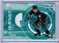 02/03 BE A PLAYER SIGNATURE SERIES PAUL KARIYA JERSEY /90 ANAHEIM MIGHTY DUCKS