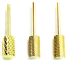 3 x Combo Nail CARBIDE Bit For 3/32 Electric DRILL (Fine Medium X-Coarse) Large)