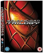 SPIDER MAN Bluray Complete Collection Part 1+2+3 TOBY MCGUIRE SAM RAIMI