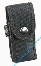 FUNDA NAVAJA KNIFE SHEATH NYLON ACOLCHADO BROCHE NEGRO 5,5X11,3 CMS 34058 M