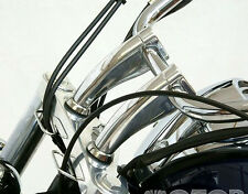 "5.5"" Chrome Handle Bar Risers For Honda Shadow Aero Phantom VLX 600 750 1100"
