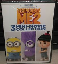 Despicable Me 2: 3 Mini-Movie Collection (DVD, 2015) New Sealed.