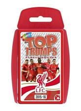 TOP TRUMPS SPECIALS 2015/2016 LIVERPOOL FC FOOTBALL CLUB CARD GAME