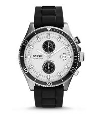 Fossil Watch * CH2933 Wakefield Chronograph Black Silicone for Men COD PayPal