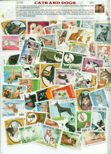 Cats & Dogs 50diff large-STAMP PACKET
