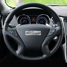 OEM Leather Steering Wheel Handle Audio Remote Control for HYUNDAI 11-14 Sonata