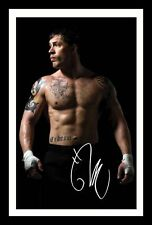 TOM HARDY AUTOGRAPHED SIGNED AND FRAMED  POSTER PHOTO