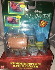 Disney Atlantis The Lost Empire Stormtroopers Water Tanker Sealed Mattel 2000