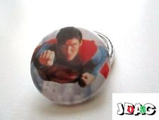 BADGE PIN - SUPERMAN CHRISTOPHER REEVE - 38 MM