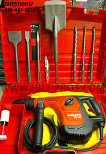 HILTI TE 50 ROTARY HAMMER DRIL,BRAND NEW,FREE BITS& CHISELS, MADE IN GERMANY