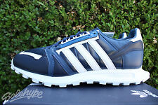 ADIDAS WHITE MOUNTAINEERING RACING 1 SZ 10.5 COLLEGIATE NAVY WHITE S81911