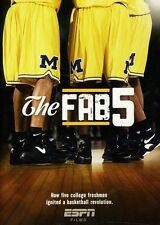 ESPN Films 30 for 30: The Fab Five (2011, DVD NIEUW)