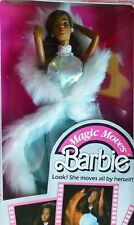 BARBIE 1985 MAGIC MOVES MAGISCHE BEWEGUNGEN VINTAGE #2127 African American NRFB