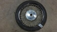 1969 Honda CL350 K0 CB350 CL 350 H741-1' front drum brake wheel rim 19in