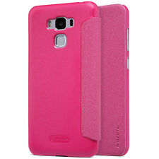 For Asus Zenfone 3 Max Nillkin Fashion  PU Leather Flip Case PC Back Full Cover
