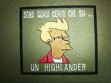 Patch toppa Fray softair airsoft futurama velcro termoadesivo cucito