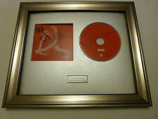 PERSONALLY SIGNED/AUTOGRAPHED SUEDE - BLOODSPORTS FRAMED PRESENTATION. RARE