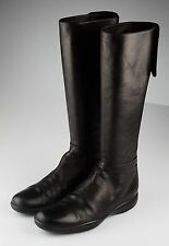 Original PRADA Boots knee high shoes Sz 38 (38,5)  Stivali Scarpe di Pelle