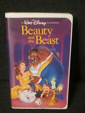 Disney Beauty and the Beast 1992 VHS Black Diamond Classic Edition Great cond!