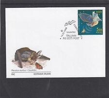 Estonia 2008 Bats First Day Cover FDC Tallin special h/s
