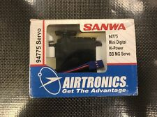 Airtronics Sanwa 94775 Digital BB Metal Gear RC Car Servo 6.0V .13s,151oz