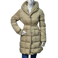 NWT MAX MARA WEEKEND Hooded down puffer coat PINDARO 54860853 02 CAMEL Sz 8 S M