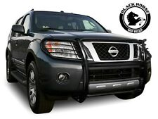 Black Horse [Fits 2005-2007 Nissan Pathfinder] Grille Brush Guard 17A110200MA