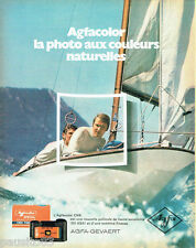 PUBLICITE ADVERTISING 026 1969   Agfa-Gevaert pellicule photo Agfacolor CNS Pack