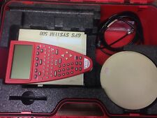 Leica SR530 GPS receiver with TR500 controller, AT502