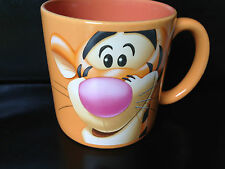 The Disney Store Tigger from Winnie The Pooh Large Orange Mug 11cm tall