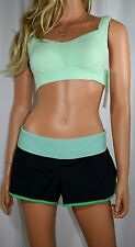 NWT Women's Lululemon Ta Ta Tamer Yoga Workout Sports Bra Top  32C Mint/Emerald