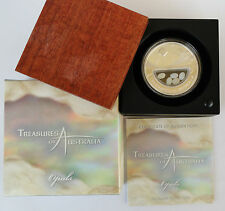 2008 AUSTRALIA Treasures of Australia - Opals 1oz Silver Proof Coin
