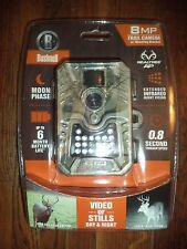 Bushnell 8MP Trail Camera w/ Night Vision & Mounting Bracket 119533CW, Camo NEW