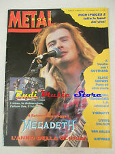 rivista METAL SHOCK 137/1993 Megadeth Black Crowes Therapy Living Colour  No cd