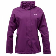 Regatta Keeta Womens Waterproof Breathable Windpr'f Hooded Jacket Purple Size 10