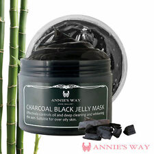 [ANNIE'S WAY] Charcoal Black Oil Control Deep Cleansing Jelly Facial Mask 250ml