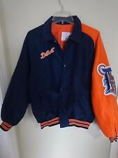 Vintage Starter MLB Detroit Tigers Snapped Front Premium Lined Coat Youth Large